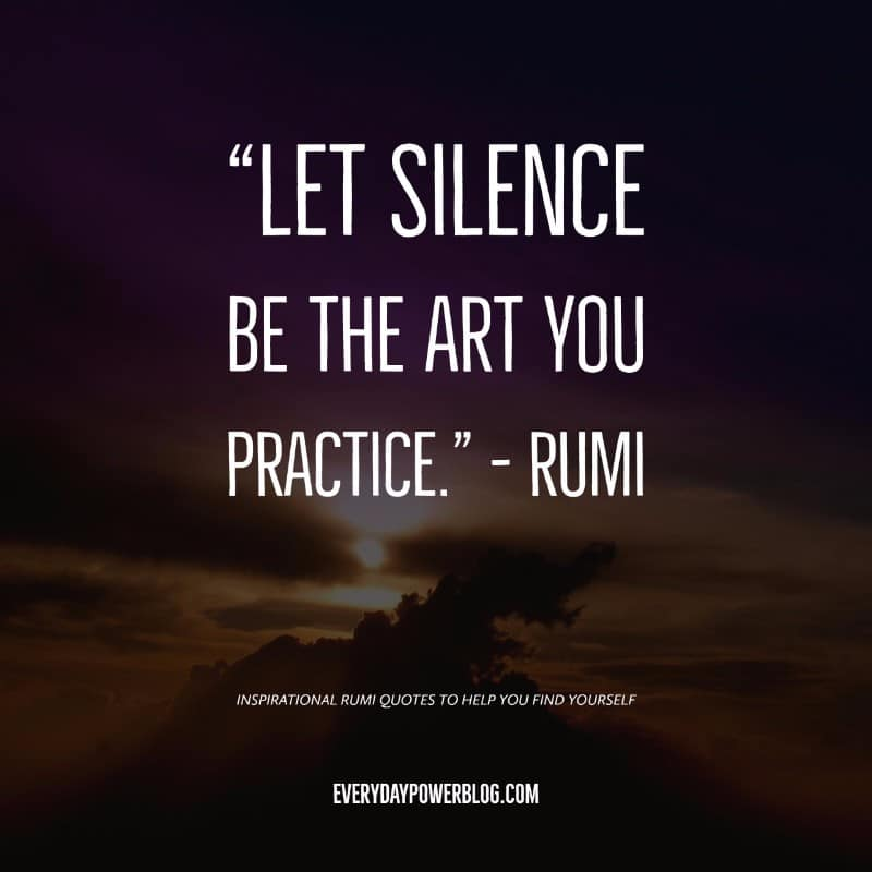 Help Quotes Interesting 10 Inspirational Rumi Quotes To Help You Find Yourself