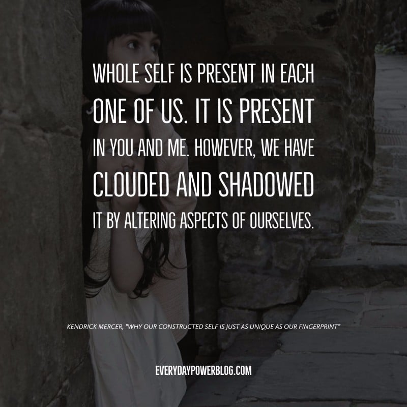 The Constructed Self