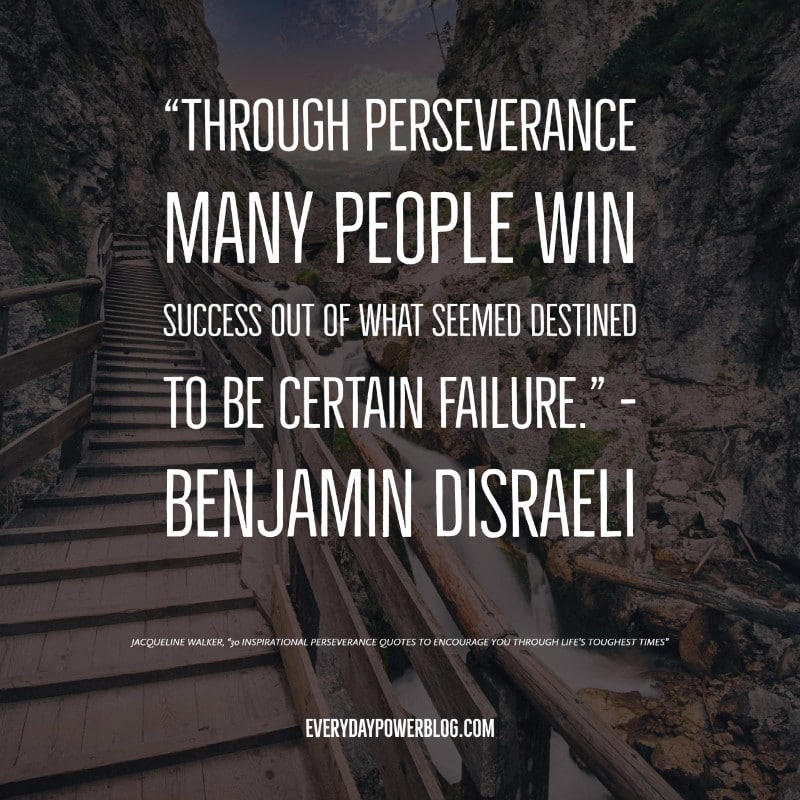 Inspirational Quotes About Perseverance Alluring 30 Inspirational Perseverance Quotes To Encourage You Through