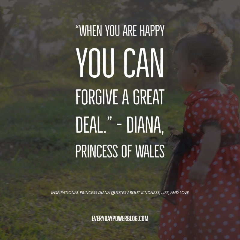 40 Princess Diana Quotes On Kindness Life Love 2019