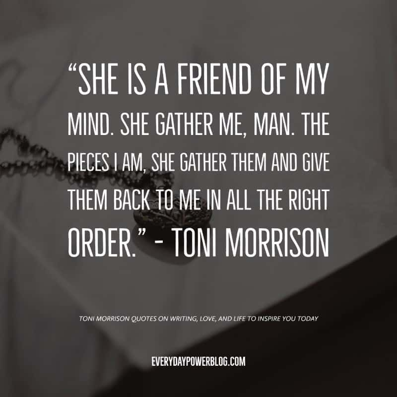 Toni Morrison Quotes