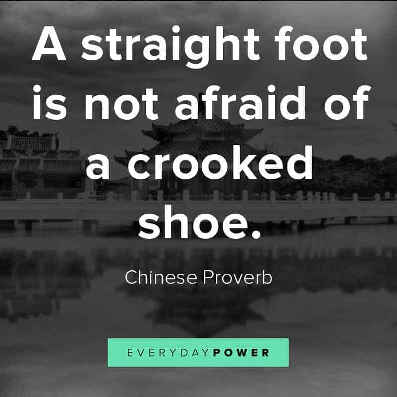 Famous Chinese proverbs about life