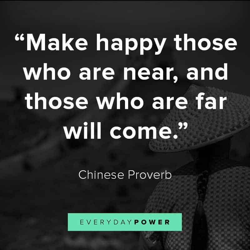 inspirational Chinese proverbs that will make you think