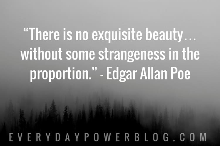 50 Edgar Allan Poe Quotes On Life Happiness 2019