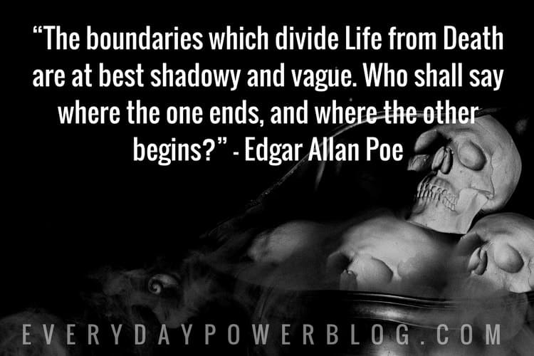 Edgar Allan Poe Life Quotes Custom 30 Powerful Edgar Allan Poe Quotes About Life From His Books And Poems