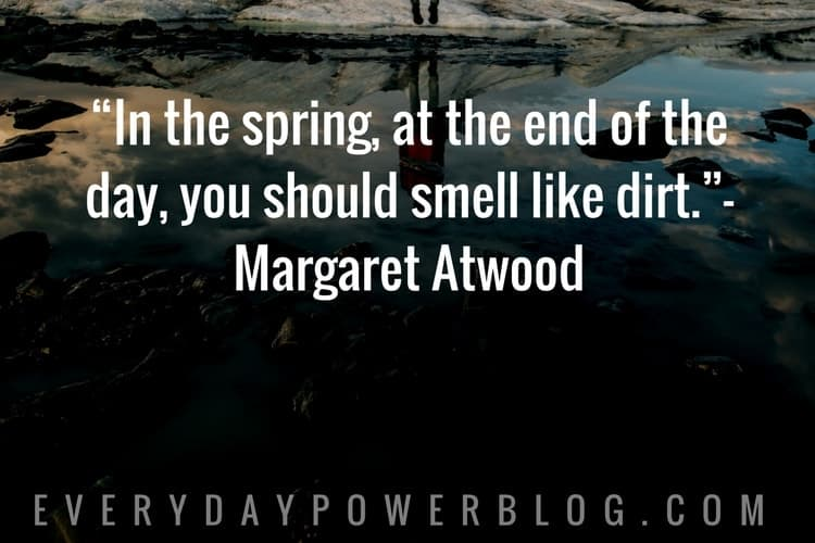 Nature Quotes about spring and summer