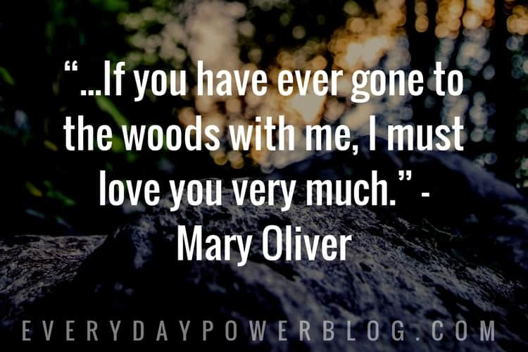 famous Nature Quotes about love
