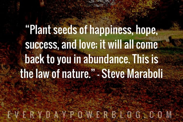 Nature Quotes about happiness