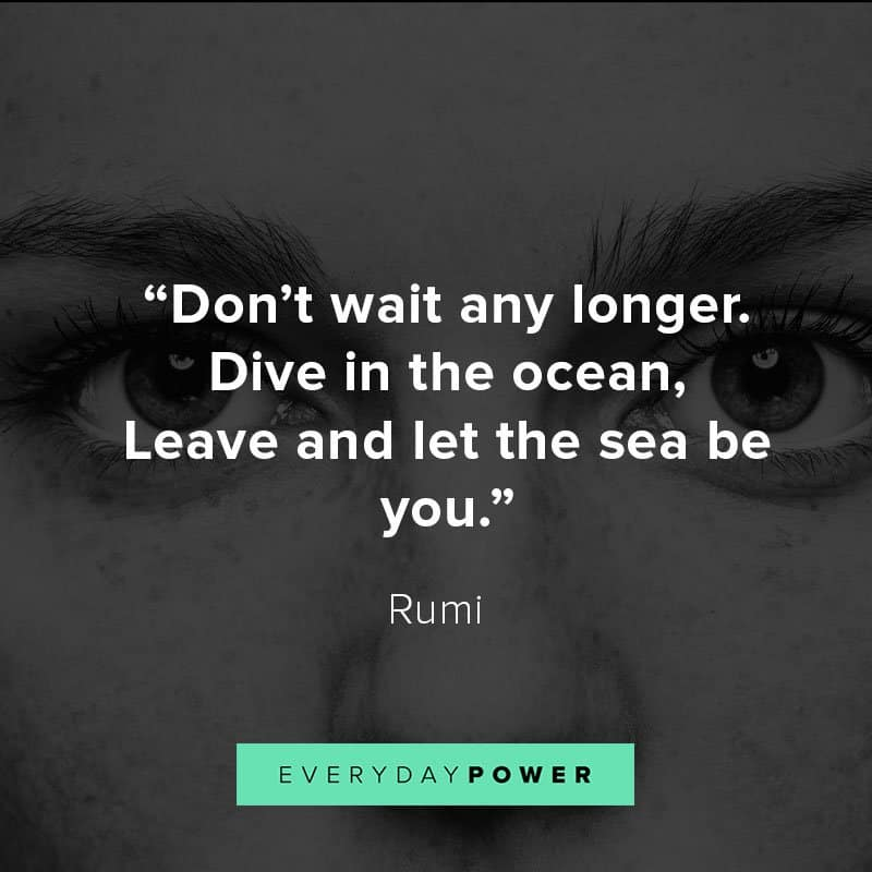 Rumi Quotes about inner peace and self love