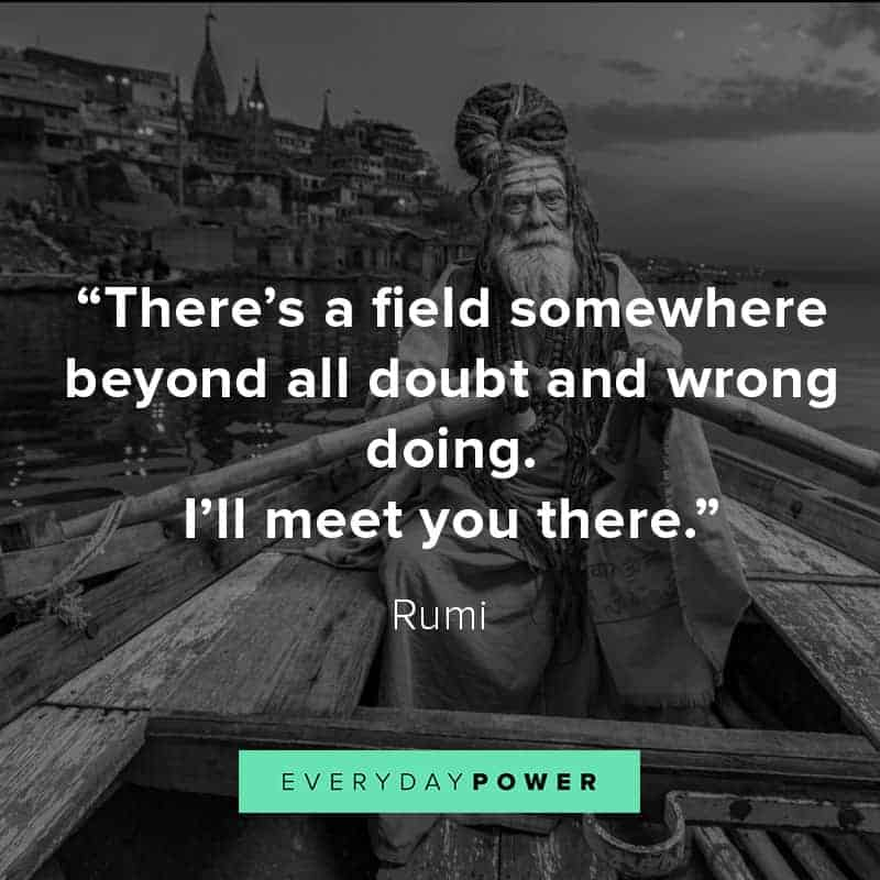 Rumi Quotes about friends