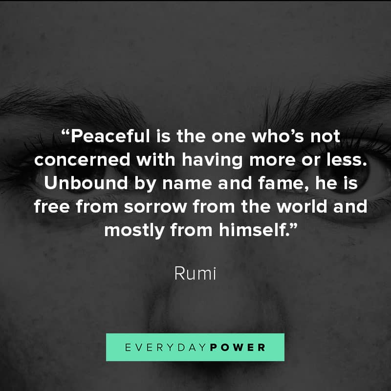70 Rumi Quotes About Love, Life And Light