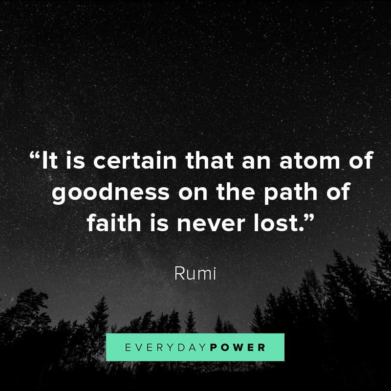 Rumi Quotes on change