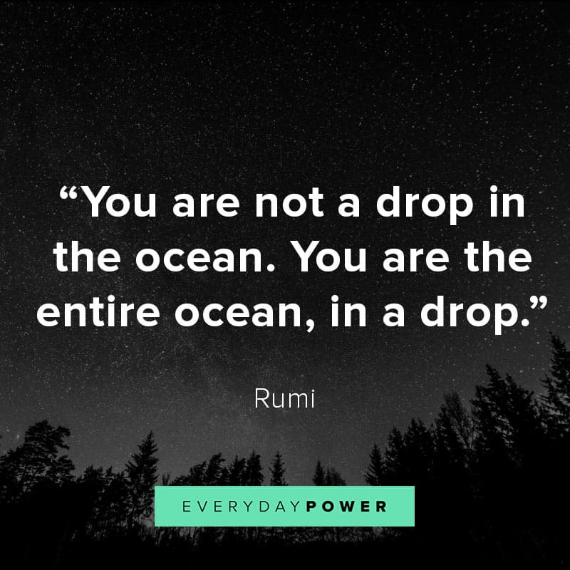 Rumi quotes about the universe