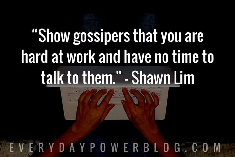 Ways To Stop Gossip In The Workplace
