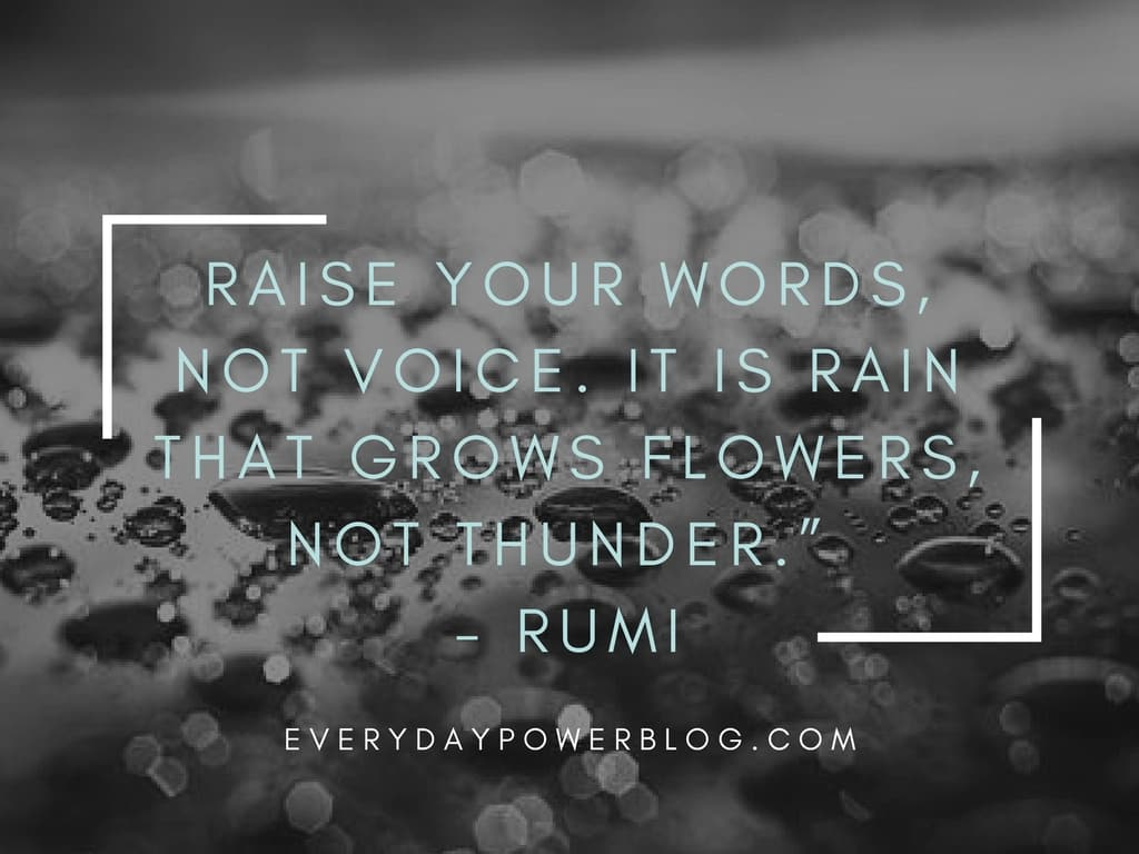 Life Quotes Rumi Quotes From His Poems About Love And Life That Will Inspire You