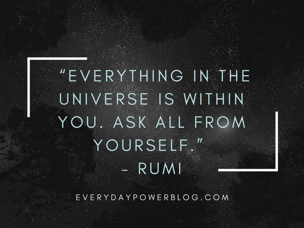 Quotes About Loving Yourself Rumi Quotes From His Poems About Love And Life That Will Inspire You