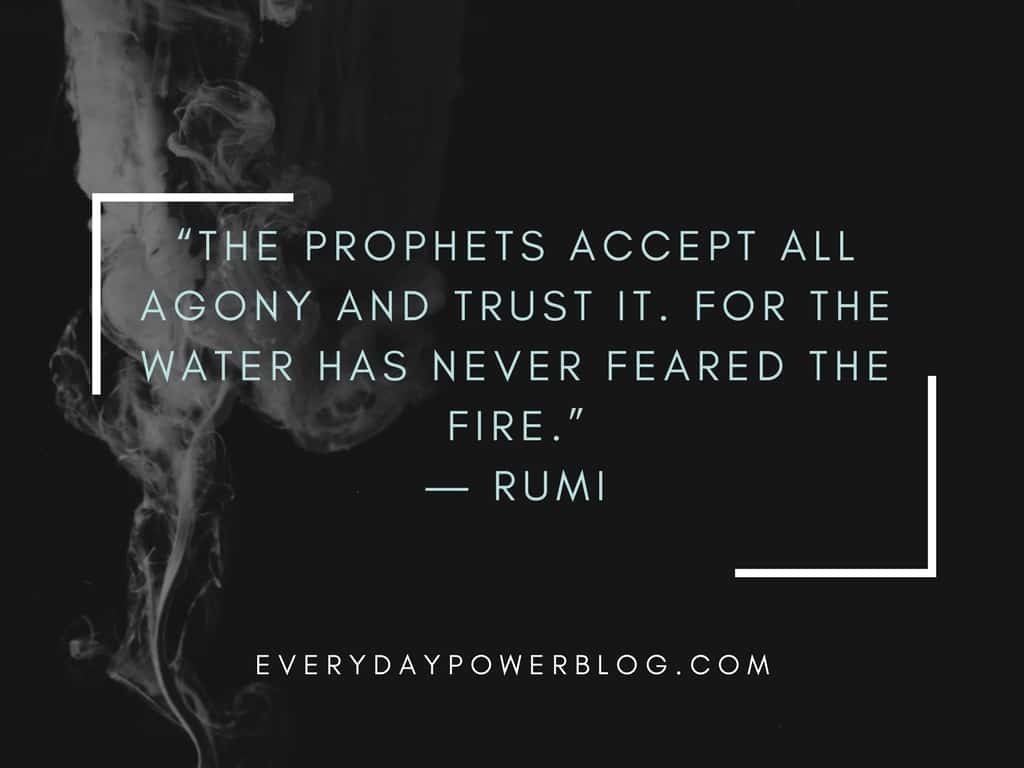 Great Inspirational Quotes About Life Rumi Quotes From His Poems About Love And Life That Will Inspire You