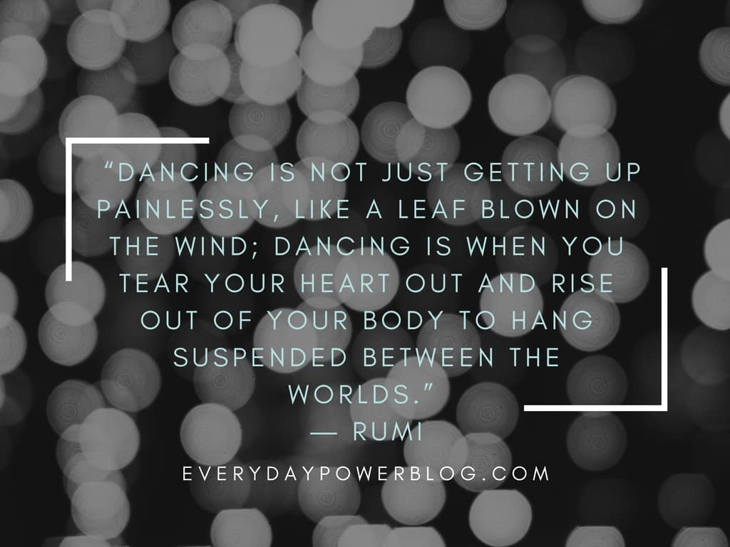 runi quotes about dancing