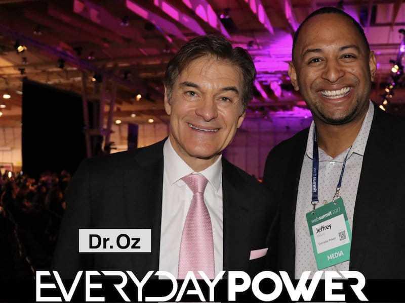 dr oz at web summit