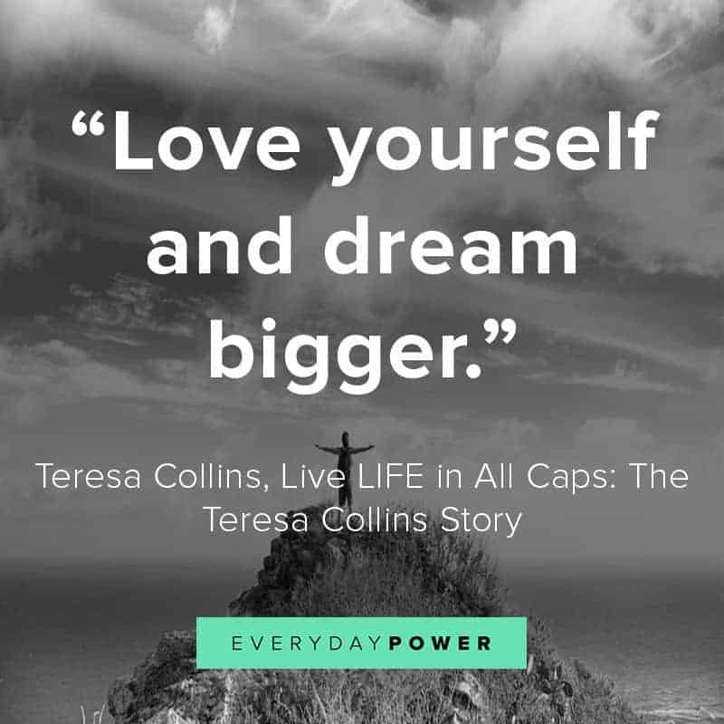 love yourself quotes about dreams