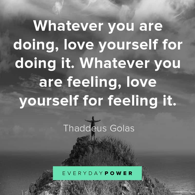 love yourself quotes about feelings
