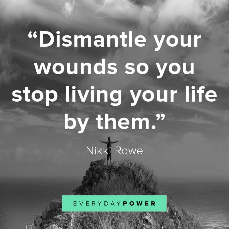 inspirational love yourself quotes about your wounds