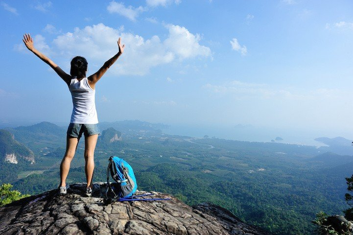 Strengthen your core confidence by doing small things that scare you