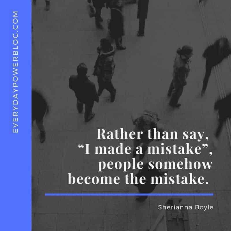 How To Take Responsibility for Your Mistakes
