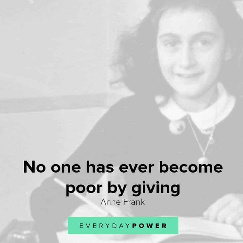 beautiful anne frank quotes