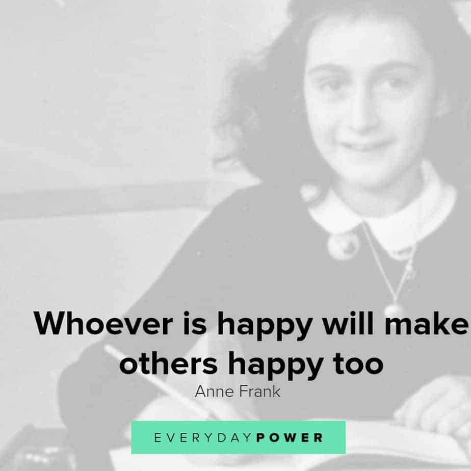 Anne Frank Quotes From Her Diary