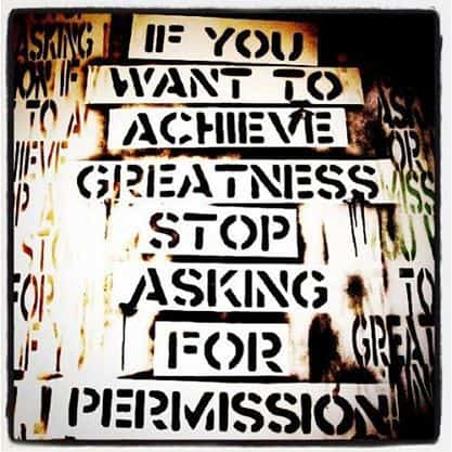 Inspiring Picture Quotes asking for permission