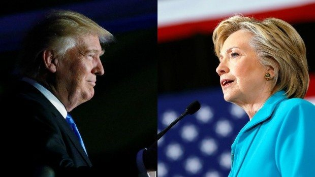 presidential debate trump hillary
