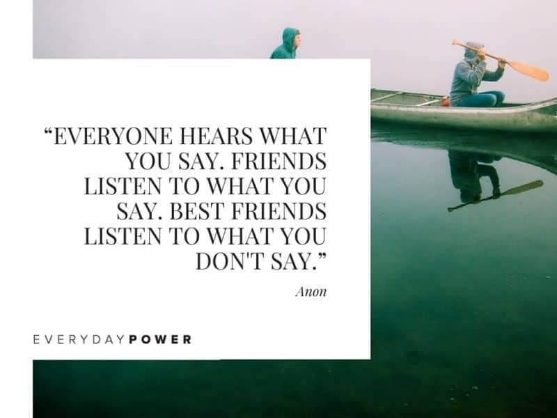 Best Friend Quotes about fighting everyone hears what you say