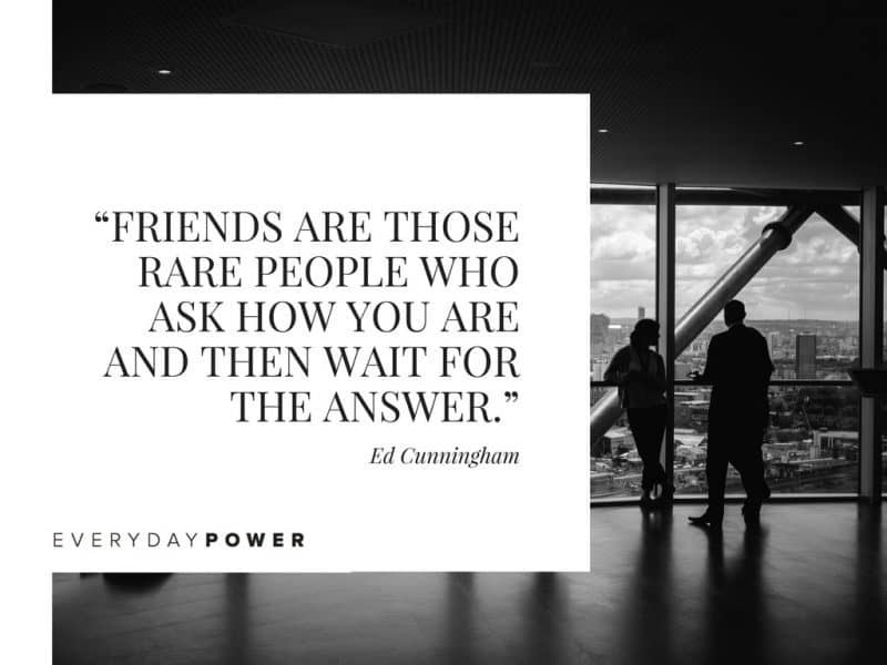 Best Friend Quotes about love friends are rare people who ask how you are and then wait for the answer