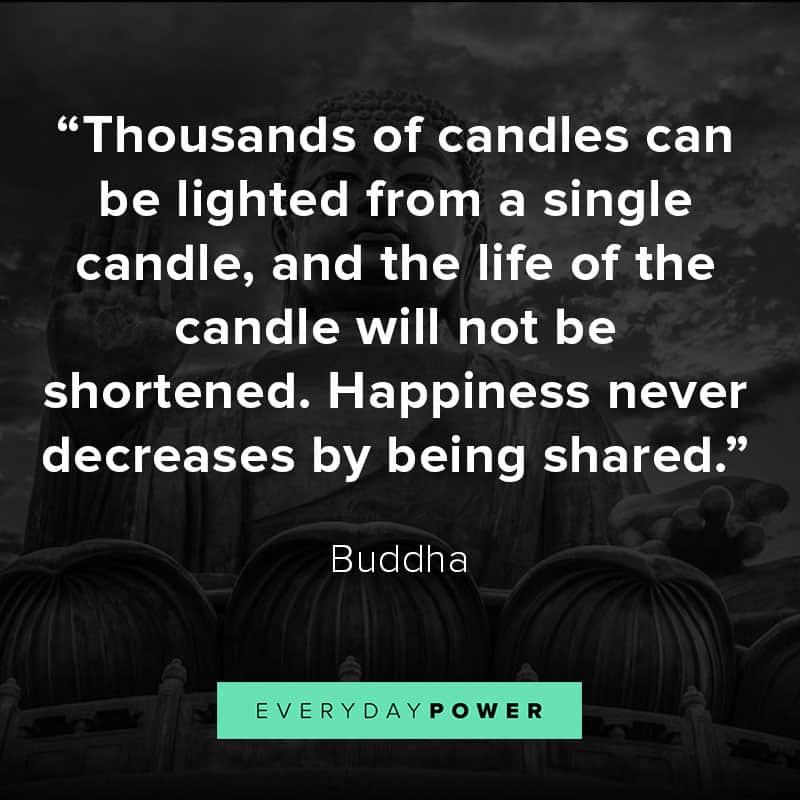 Inspirational Buddha quotes on karma, peace, and love