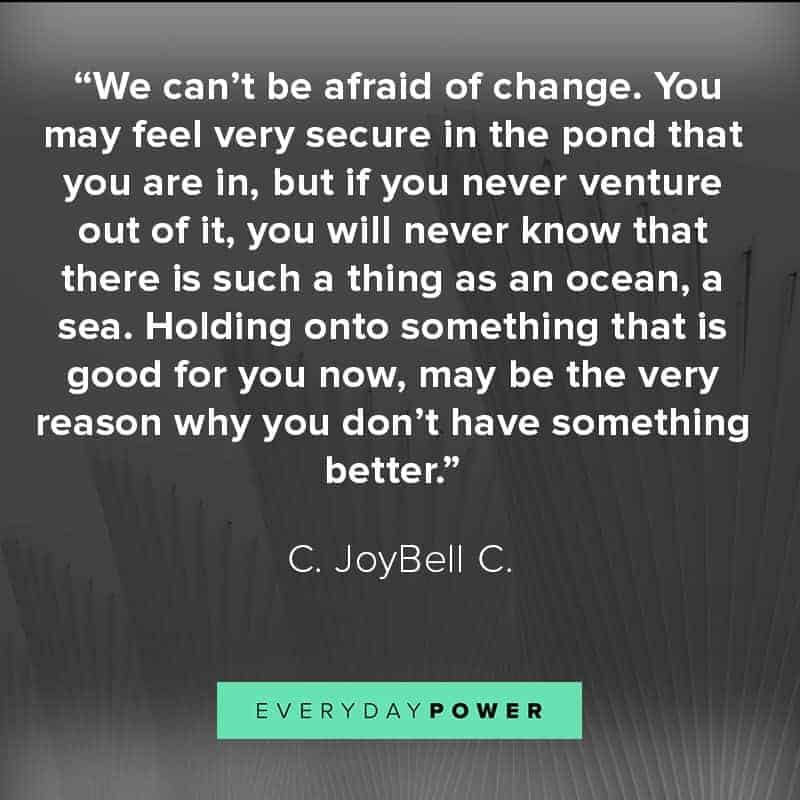 The best quotes about embracing change