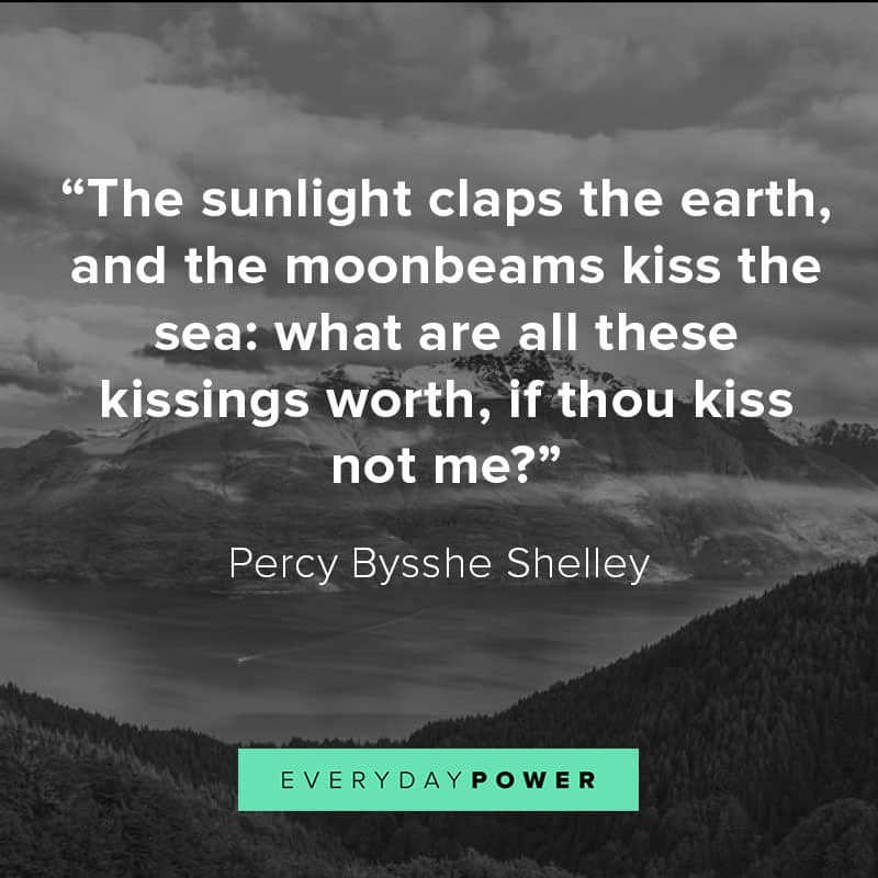 nature quotes on life and kisses