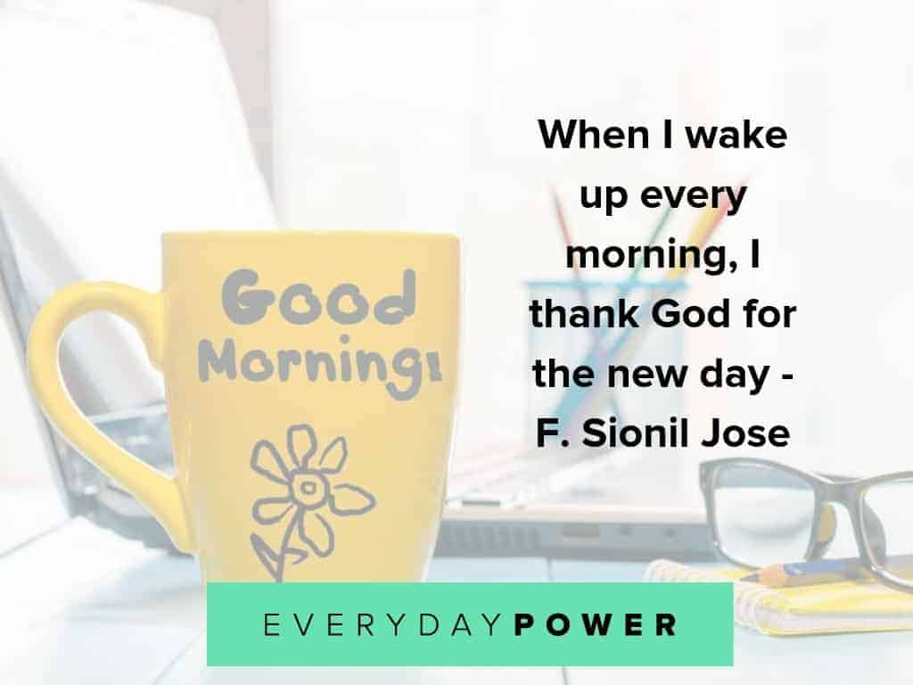 Good morning quotes that will enrich your day