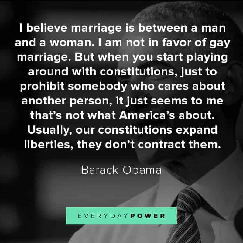 Barack Obama quotes on marriage
