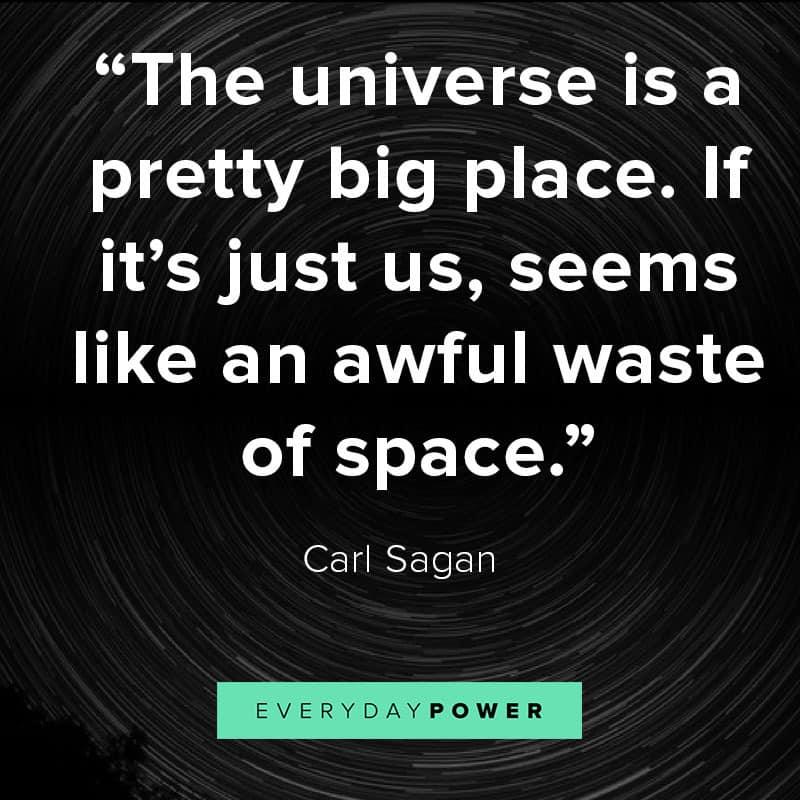 Carl Sagan quotes from Blue Dot