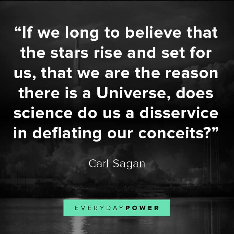 Carl Sagan quotes about life and faith