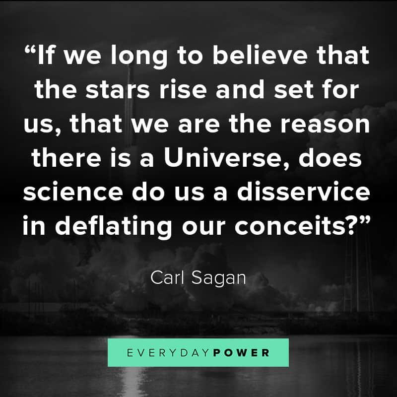 Carl Sagan quotes about life and faith