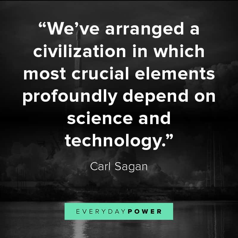 Carl Sagan quotes about humanity