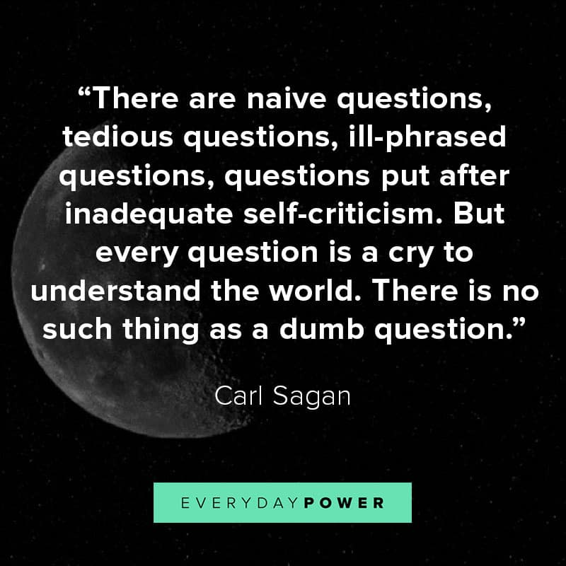More Carl Sagan quotes about science and space