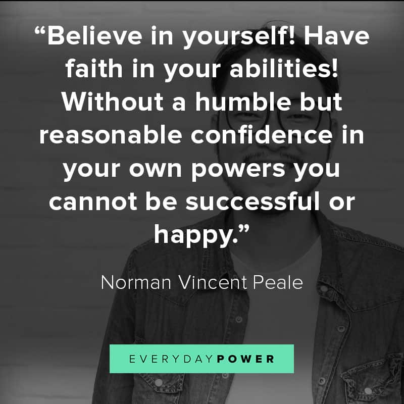 More self esteem quotes about perseverance and confidence