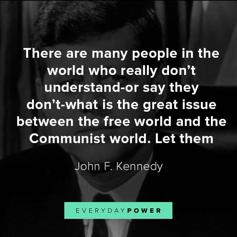 John F. Kennedy quotes about democracy