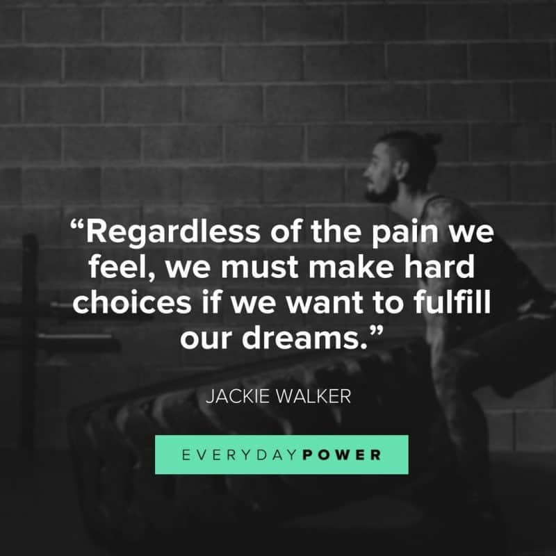 No Growth without Pain
