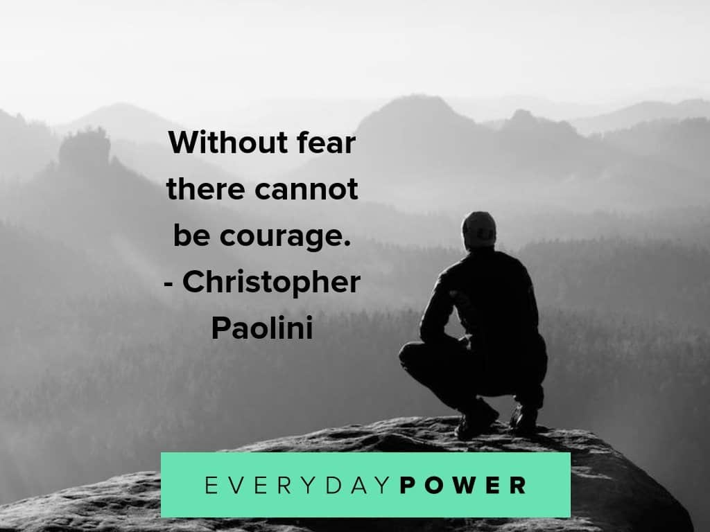 courage quotes about fear