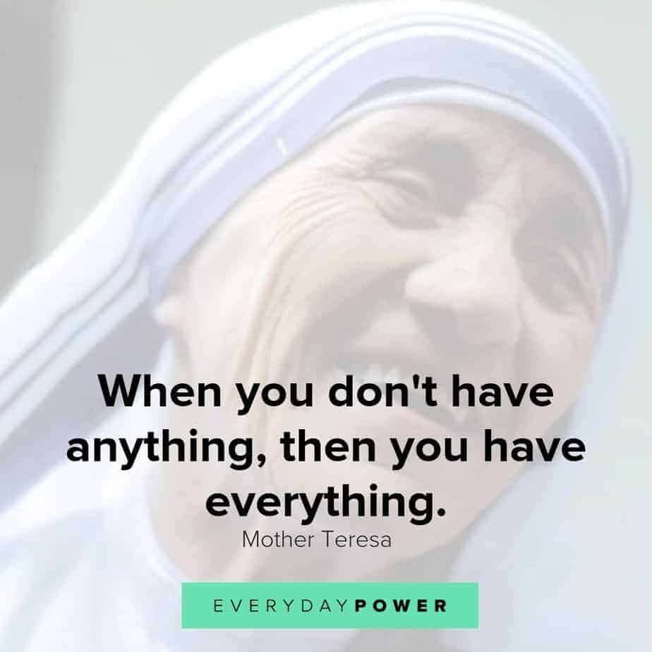 quotes by mother teresa to live by