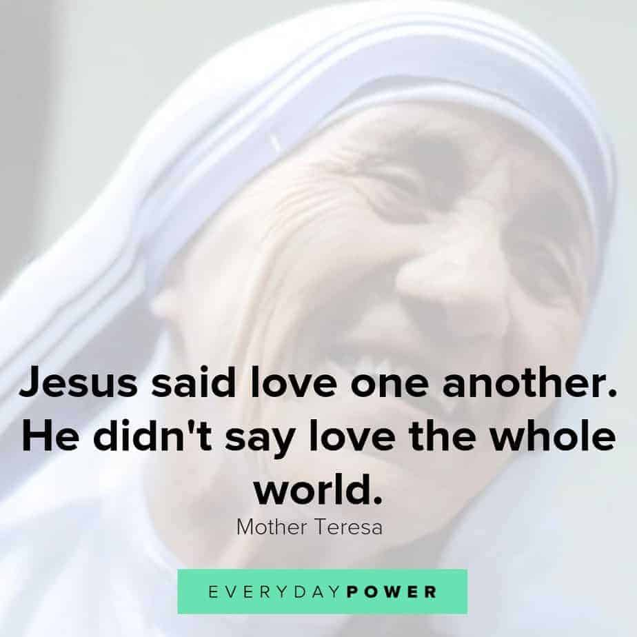 love quotes by mother teresa